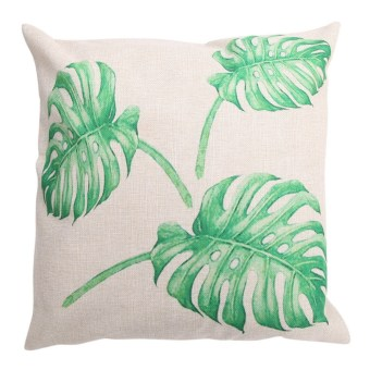 Creative Bamboo Pattern Cotton Pillow Cover Cushion Cover