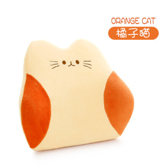 Cute memory cotton office care lumbar support pillow cushion lumbar support pillow