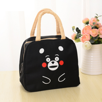 Cute waterproof Oxford Cloth bag pack insulation lunch bag portable lunch boxes