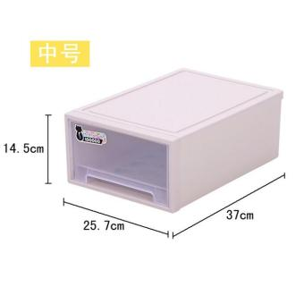 Drawer-Style Bed end storage box