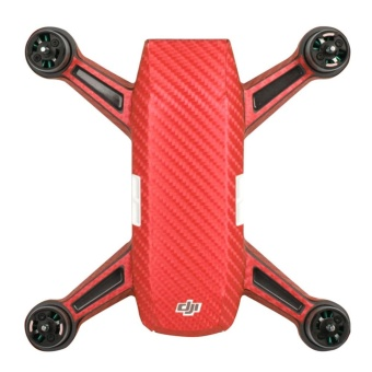 Elife Carbon Fiber Stickers Remote Control Outdoor Waterproof BodyStickers Protection Accessories For DJI SPARK - intl