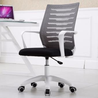 Ergonomic Mid-mesh office chair with Stainless Steel Dual Wheel