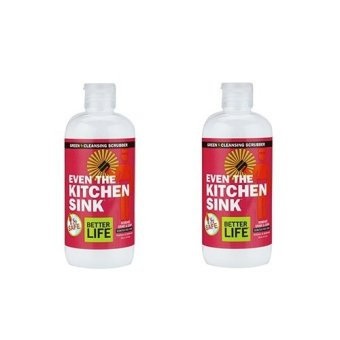 Even the Kitchen Sink Natural Cleansing Scrubber (Twin Pack)