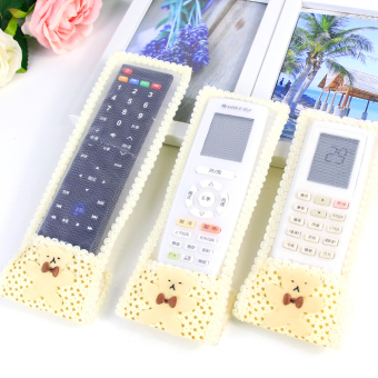 Fabric lace Butterfly knot remote control the remote control devicecover
