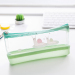 Female Student Korean pectin waterproof cartoon transparent pencil bag