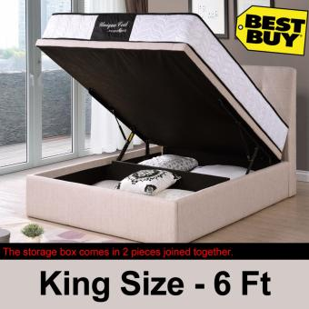 [Full Set] Storage Bed and 9-inch Spring Mattress