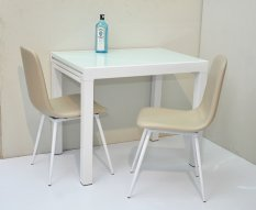 Extendable Dining Table Set Singapore Brandon Extendable Glasstop
