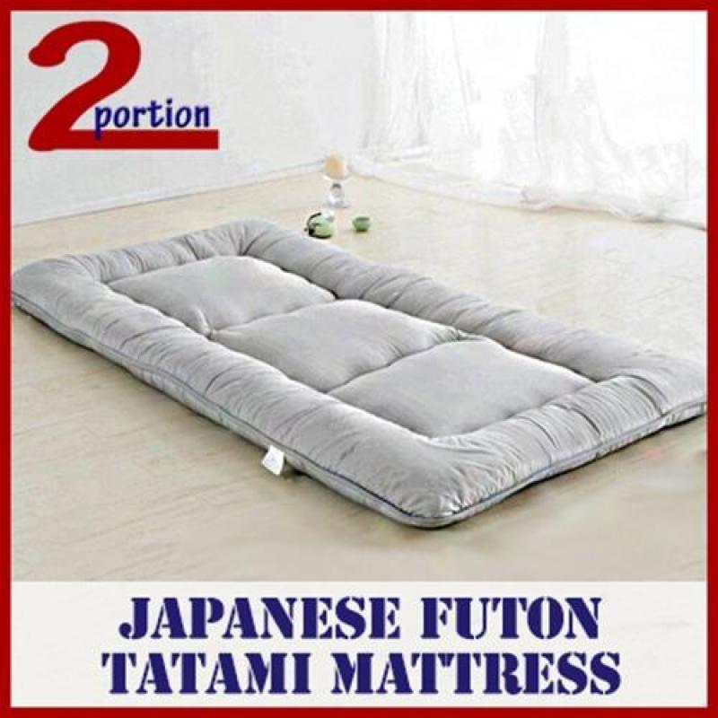 Futon Mattress - Single - Grey