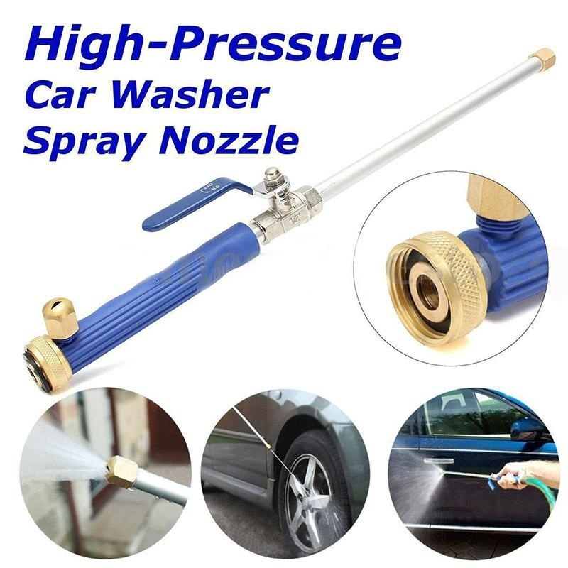 High Pressure Power Washer Spray Nozzle Water Jet Wand Effective Cleaning Tool - intl