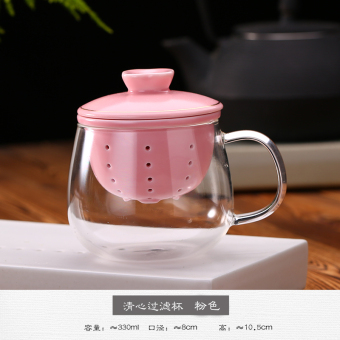 Home heat-resistant glass cup tea cup ceramic cup