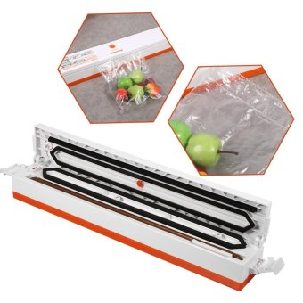 Household Electric Food Vacuum Sealing Bag Sealer Packing Machine EU Plug - intl
