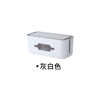 Household inserted row management line box desktop plug cable boardwire storage box socket finishing box 65878