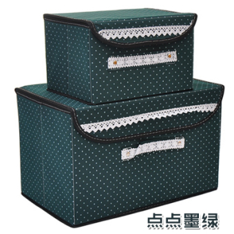 Large with cover toys storage box clothes storage box
