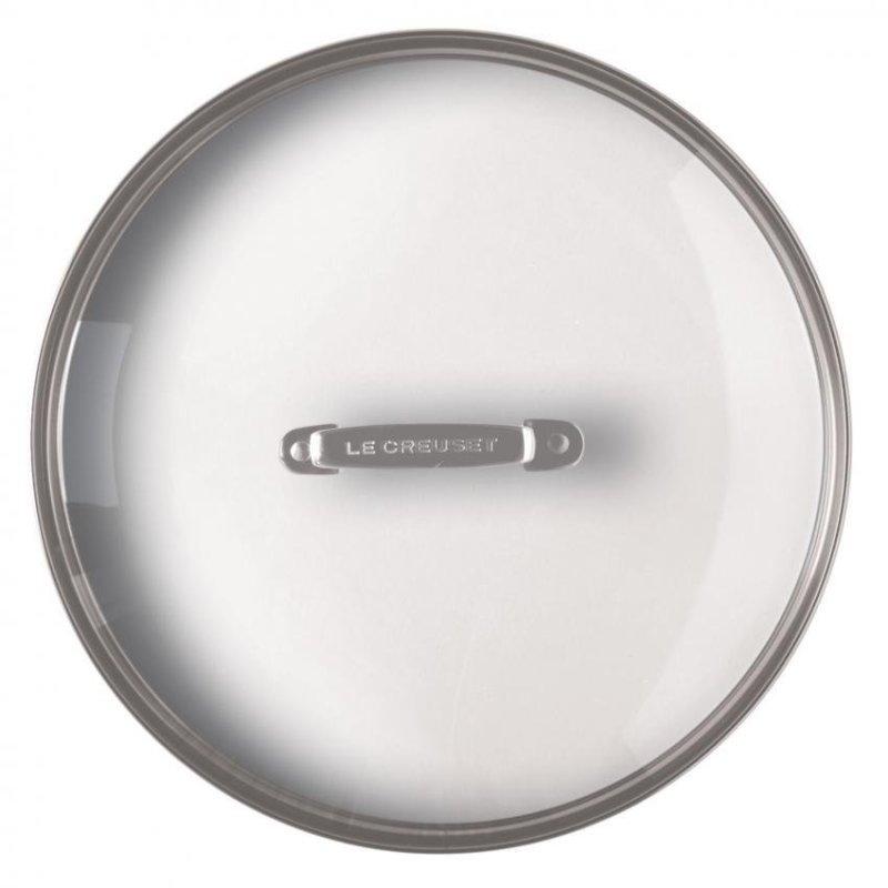 Le Creuset Glass Lid 24cm Accessory for Toughened Non-Stick Pan Singapore