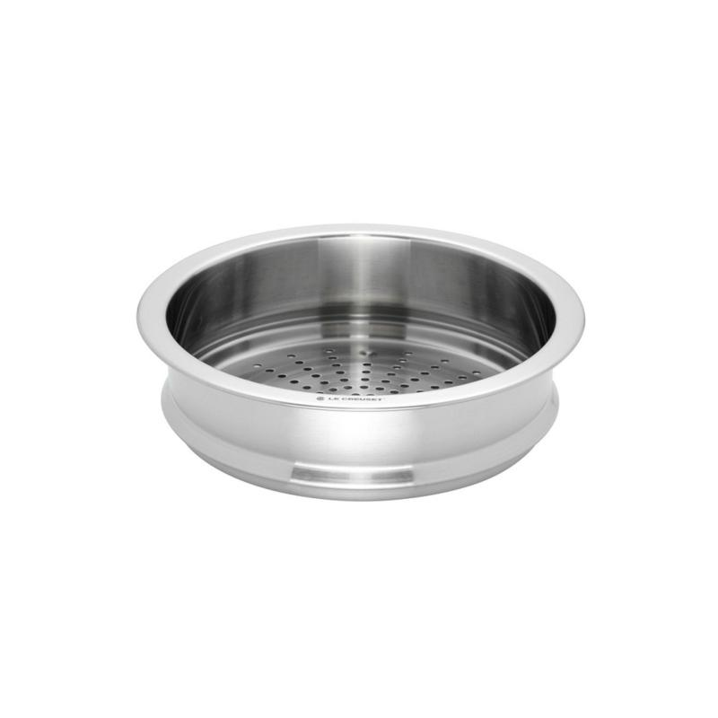 Le Creuset Stainless Steel Steamer 22cm Accessory Singapore