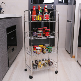 Meiyijie fruit basket storage rack kitchen shelf