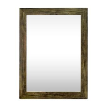 Mirror | Wall Mirror Dark Wood-like | Home Decor | Household