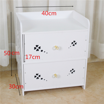 Modern telephone table dormitory living room European-style drawer cabinet finishing bedroom bedside cabinet