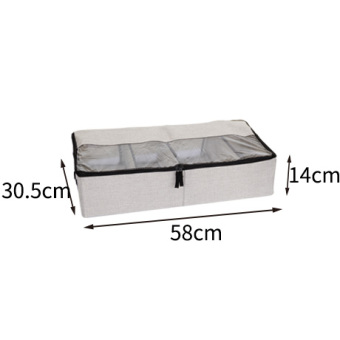 Multi-functional dustproof moisture bed storage box