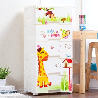 Multi-layer storage snack organizing cabinet bedside cabinet