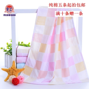New Double gauze cotton baby child towel cleansing towel absorbentsoft box gift small towel to wipe hand towel