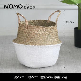 Nordic country simulation plants large bonsai Nordic potted home living room floor ornaments creative plants