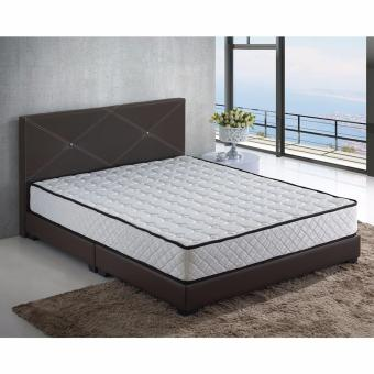 Nova S8 5 ft Bed Frame with 5 ft Spring Mattress (Queen)