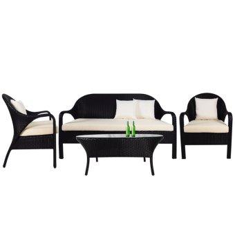 Oasis Sofa Set Cream Cushion 2 Year Warranty Lazada