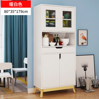 Oylang home living room wood lockers meal side cabinet