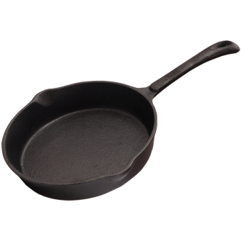 Paintcoat Cast Iron mini small wok frying pan