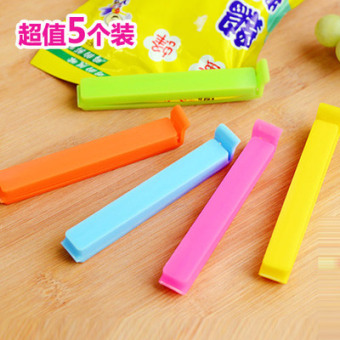 Plastic Bag sealing is snack clip food seal clip