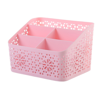 Plastic debris shelf skin care products storage finishing box storage box