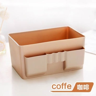 Plastic office desktop stationery jewelry box finishing storage box