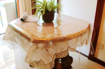 Plastic transparent tablecloth Film Crystal Board