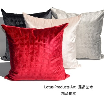 Product of New Classical velvet Lotus luxury cushion cover pillow
