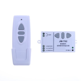 Projection Screen Universal Wireless Remote Control AC 220V Switch Button - intl