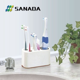Sanada bathroom washed storage rack toothbrush holder