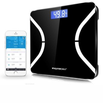 SDF Composition LCD body fat Weighing Digital Scale Bathroom - intl
