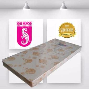 Sea Horse Crystal Single 6in