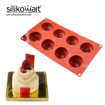 Sf113 chocolate three layer round mousse cake mold silicone Mold