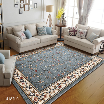 Shenshigou Living Room European Style Coffee Table Mat Rug