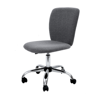 Simple Modern Office Chair (Fabric-Grey) (Free Delivery ...