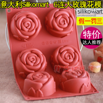 SN7 sf077 rose cake mousse silicone Mold