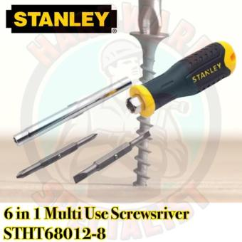 Stanley 6 in 1 Multi Use Screwdriver STHT68012-8