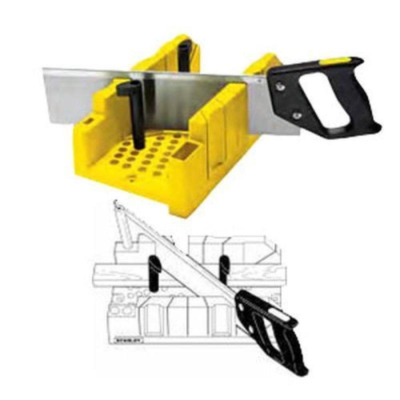 Stanley Clamping Mitre Box & Saw [1-20-600]