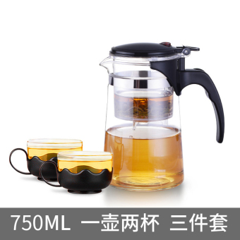 Story of water HIGH-TEMPERATURE resistant filter teapot glass elegant cup