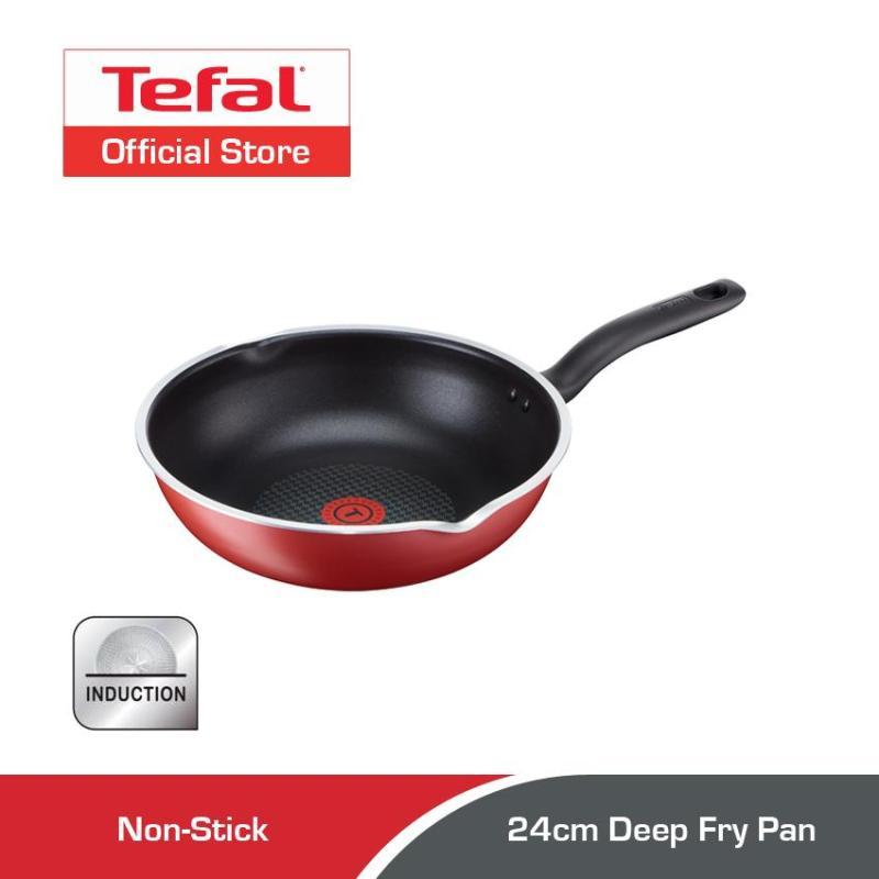 Tefal 24cm Pure Chef Deep Fry Pan C61764 Singapore