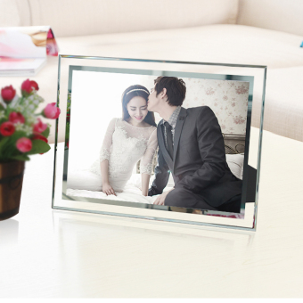 Upscale Creative Crystal Photo Frame 6/7/8/10 Inch