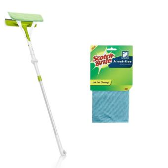 [Value Set] 3M(TM) Scotch-Brite(TM) Multi Purpose Window Glass SurfaceCleaner + Glass Cleaning Cloth