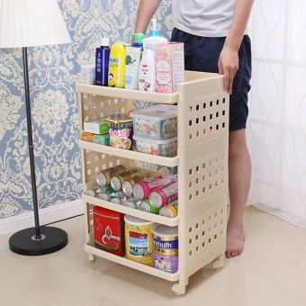 With Round square trolley Cabinet